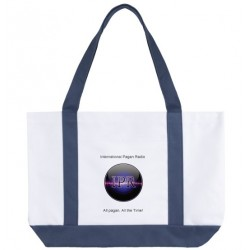 Large IPR logo tote bag
